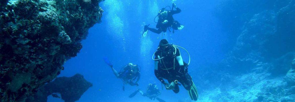 Warmtepads bij het duiken